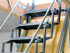 Ladders, attic ladders and stairs