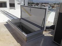 RHT9024 roof hatch for maintain the airconditionering